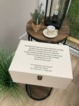 VERY LARGE Personalised HUSBAND Keepsake Bereavement Memory Box ANY NAME - 333332634477